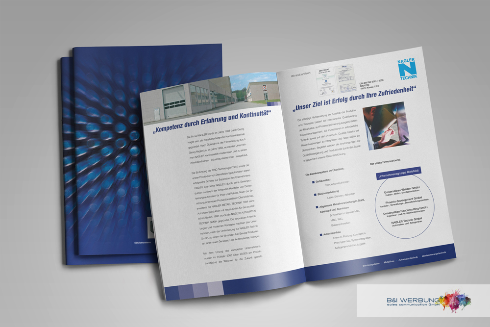 PROSPEKTGESTALTUNG | NAGLER TECHNIK GmbH - Weiden