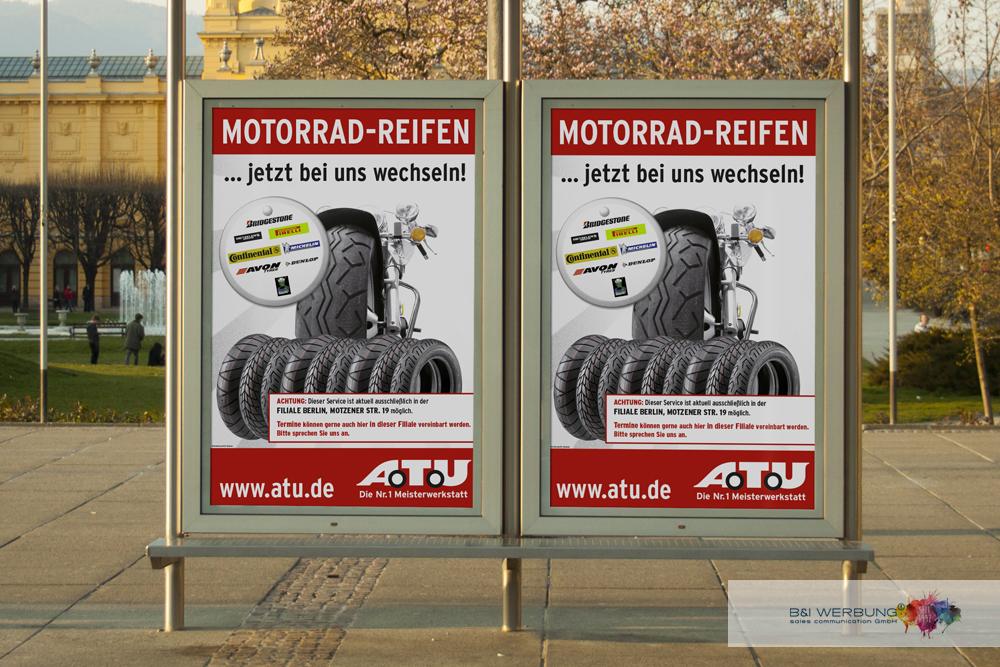 PLAKATGESTALTUNG | A.T.U Auto-Teile-Unger