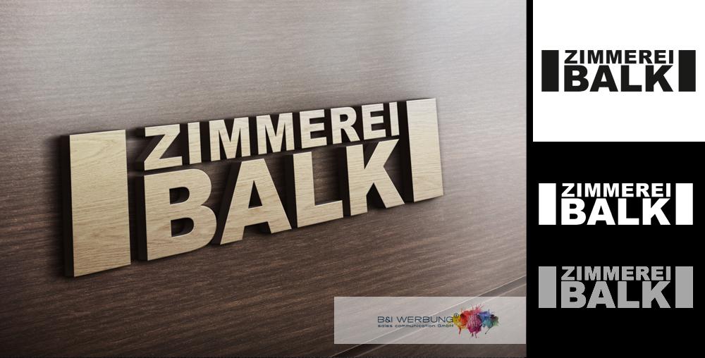 LOGOGESTALTUNG | Zimmerei BALK - Weiden