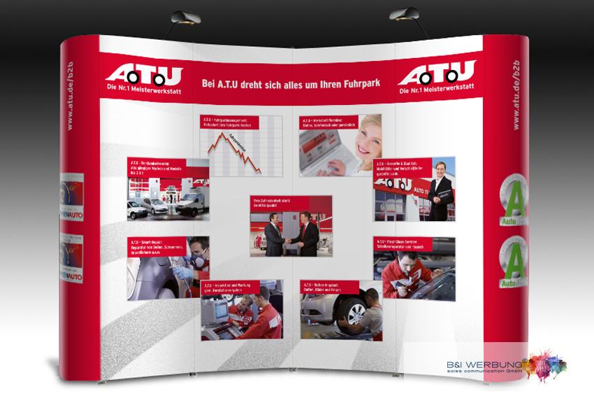 MESSEGESTALTUNG | A.T.U Auto-Teile-Unger - Weiden