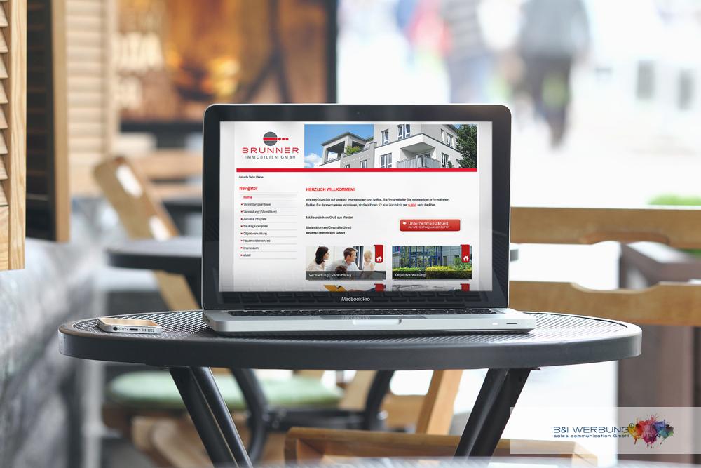 WEBDESIGN | BRUNNER Immobilien GmbH - Weiden